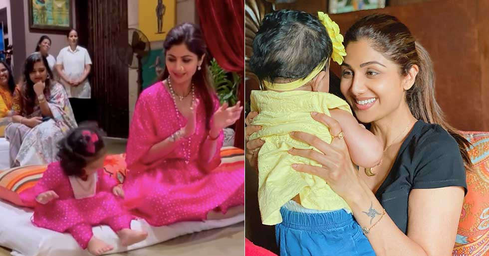 Shilpa Shetty shares the cutest video of daughter Samisha on Daughterâs Day
