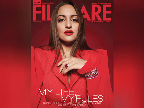 Sonakshi Sinha exudes power on the latest cover of Filmfare