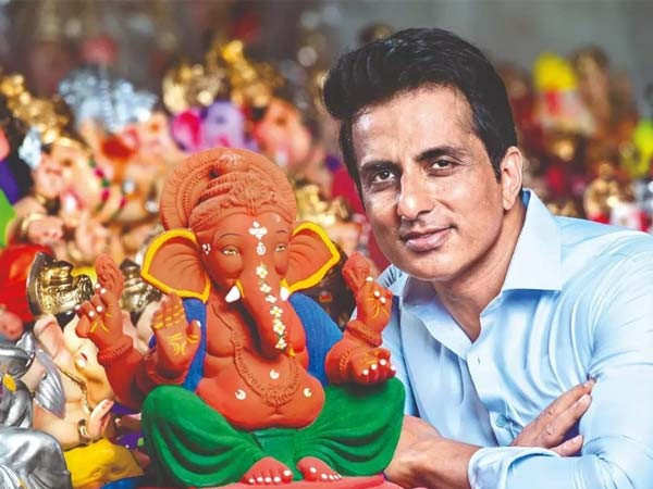 Sonu Sood talks about bringing Ganpati home for the last two decades