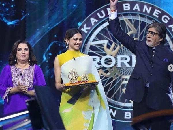 Deepika Padukone speaks about depression on Amitabh Bachchan's show