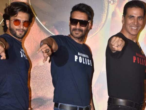 Ranveer Singh is impressed with this actor's performance in Sooryavanshi