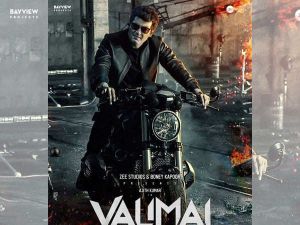 Thala Ajith's Valimai to release in 2022, confirms Boney Kapoor