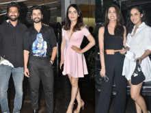 Vicky Kaushal, Sharvari, Radhika Madan and more at Sunny Kaushal's birthday celebration
