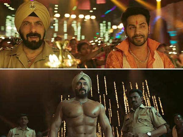Vignaharta from Antim shows Salman Khan, Varun Dhawan, Aayush Sharma in top form