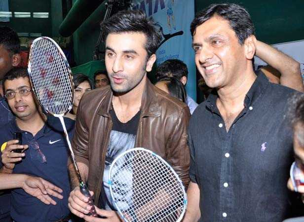 Ranbir Kapoor and Prakash Padukone