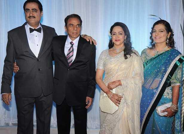 Stars Dazzle At Esha Deols Wedding Reception Filmfare