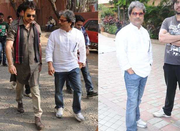 Imran Khan and Vishal Bhardwaj