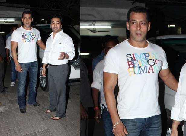 Salman and Nitesh Rane