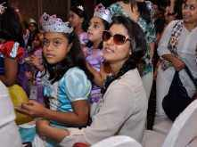 Kajol with daughter Nysa at Disney Princess event