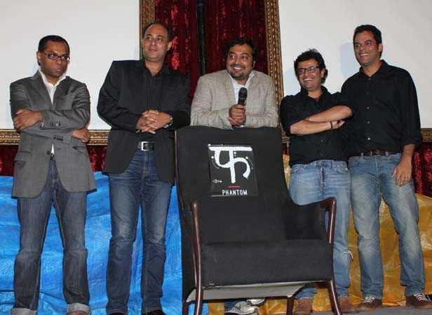 Vivek Rangachari, Shahnaab Alam, Anurag Kashyap, Vikas Bahl ,Vikramaditya Motwane