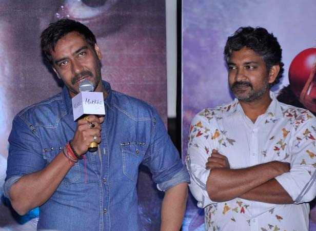 Ajay Devgn and director S.S.Rajamouliamouli