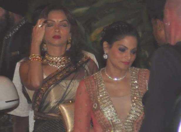 Seema Khan and Alvira Agnihotri