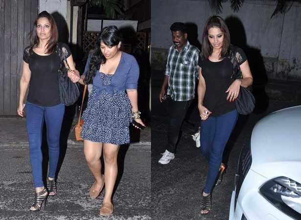 Bipasha Basu with sister Vijayeta
