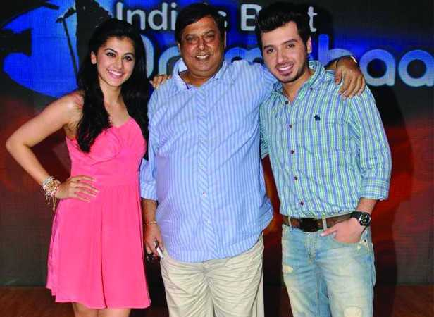Taapsee Pannu,David Dhawan and Divyendu Sharma