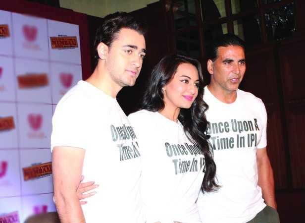 Imran Khan, Sonakshi Sinha and Akshay Kumar