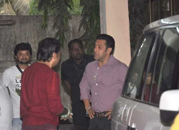 Govinda and Salman Khan