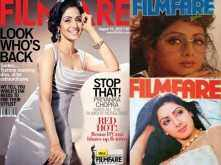 Birthday Special: Sridevi's best Filmfare covers