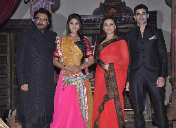 Sanjay Leela Bhansali, Jennifer Winget, Rani Mukerji and Gautam Rode