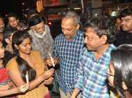 RGV and Nana Patekar at Leopold Cafe