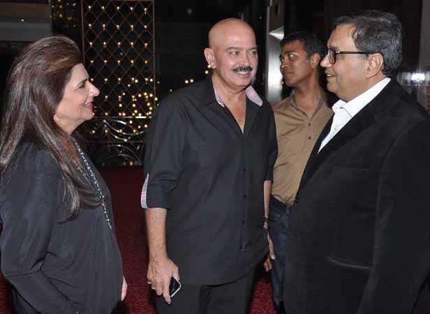 Pinky Roshan, Rakesh Roshan, Subhash Ghai