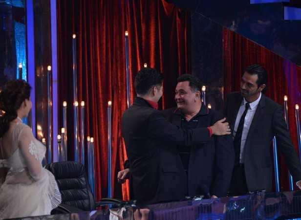 Madhuri Dixit-Nene, Karan johar, Rishi Kapoor and Arjun Rampal