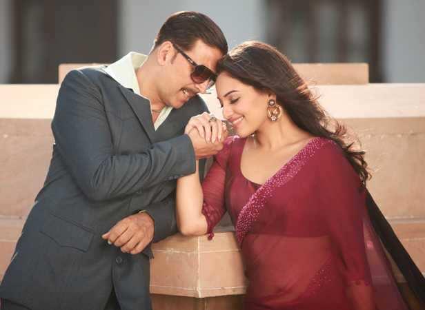 Love song: Akshay Kumar and Sonakshi Sinha