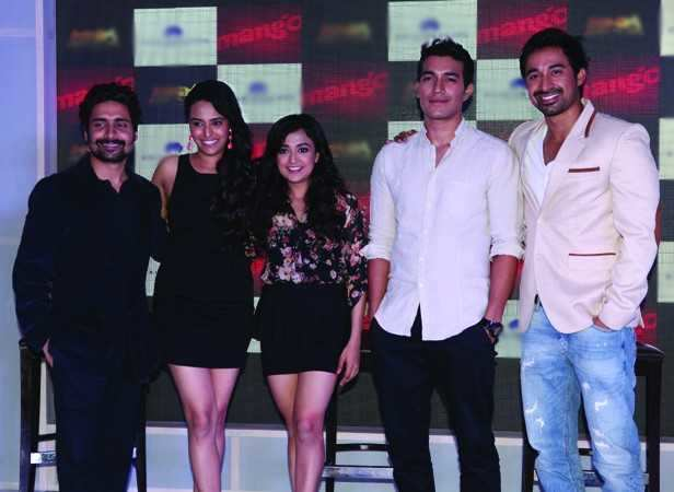 Left to right Chandan Roy Sanyal, Swara Bhaskar, Abbas Tyrewala, Bobby Bedi, NP Singh, Man Jit Singh, Monali Thakur, Harman, Rannvijay
