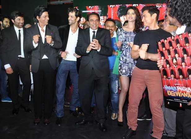 Sunny Deol, Shah Rukh Khan, Hrithik Roshan, Dharmendra and Aamir Khan