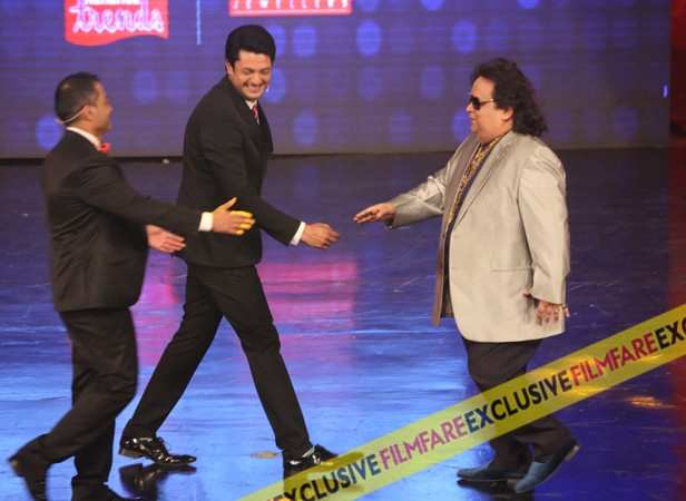 Sujoy Ghosh, Jisshu Sengupta and Bappi Lahri