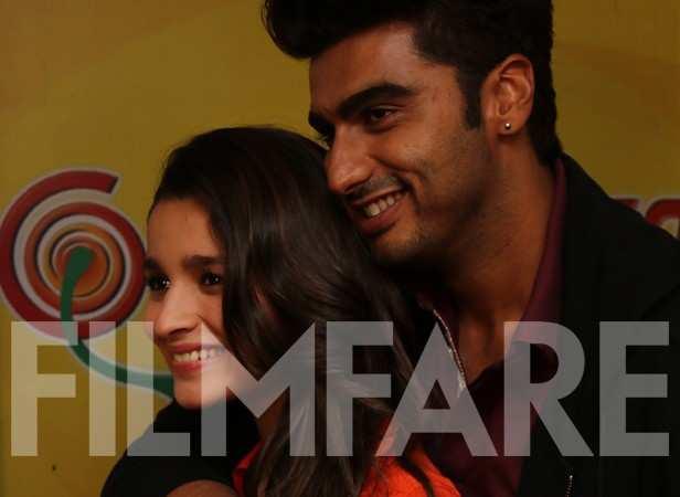 Alia Bhatt and Arjun Kapoor