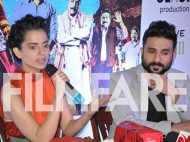 Kangana Ranaut & Vir Das promote Revolver Rani