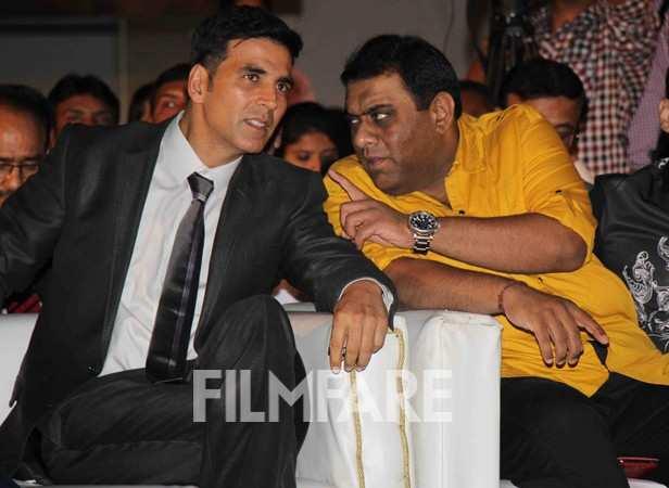 Akshay Kumar with director