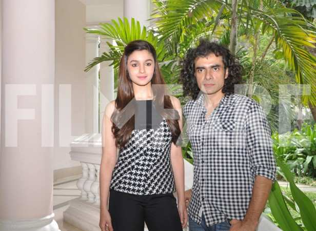 Alia Bhatt and Imtiaz Ali