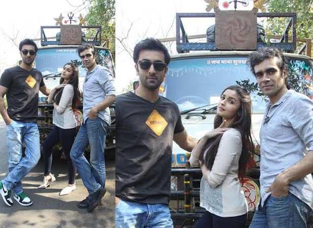 Ranbir Kapoor, Alia Bhatt and Imtiaz Ali