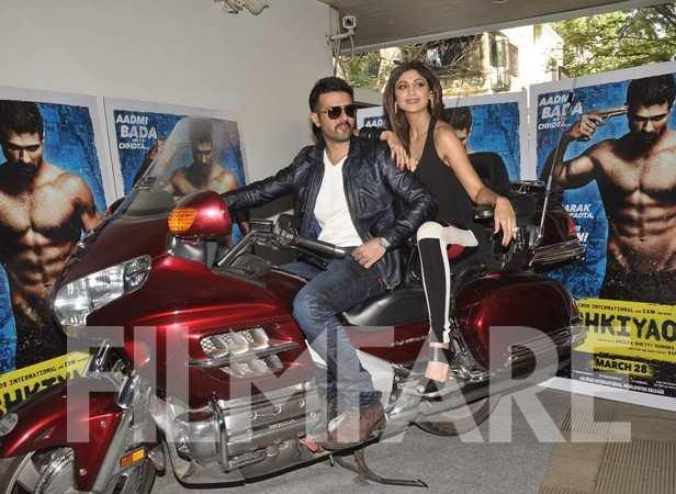 Harman Baweja & Shilpa Shetty