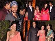 The Bachchans, Rekha, SRK come together