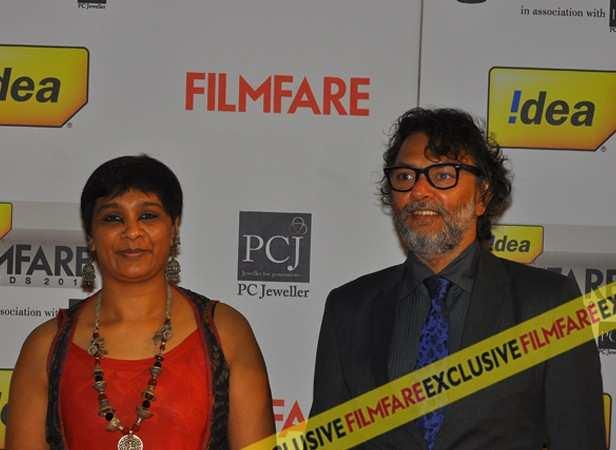Rakeysh Omprakash Mehra and wife PS Bharti