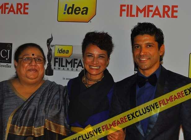 Honey Irani, Adhuna and Farhan Akhtar