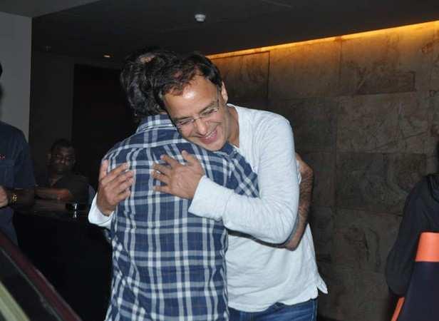 Rajkumar hirani and Vidhu Vinod Chopra