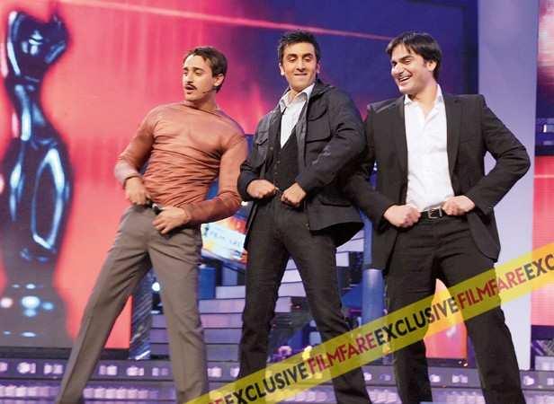 Imran Khan, Ranbir Kapoor and Arbaaz Khan