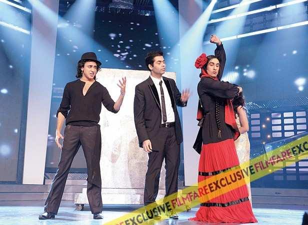 Imran Khan, Karan Johar and Ranbir Kapoor