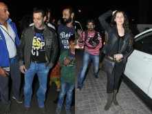 Salman Khan and Sangeeta Bijlani watch Sholay 3D