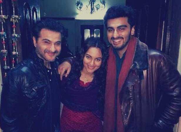 Sanjay Kapur, Sonakshi Sinha and Arjun Kapoor