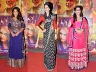 Madhuri, Kalki & Huma watch Dedh Ishqiya
