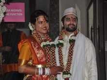 Sameera Reddy gets married