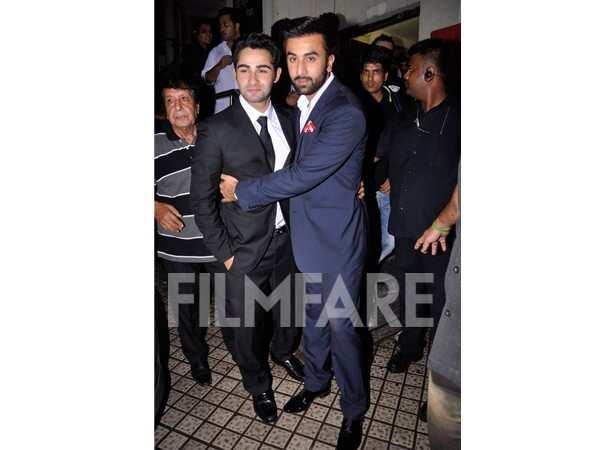 Armaan Jain and Ranbir Kapoor