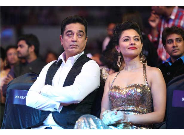 Kamal Haasan and Pooja
