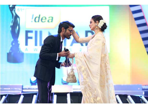 Dhanush and Rekha