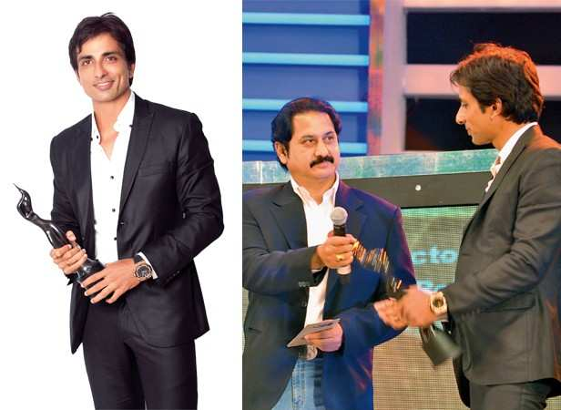 Sonu Sood wins award for Best Actor In A Supporting Role for his role in Arundhati (Telugu)