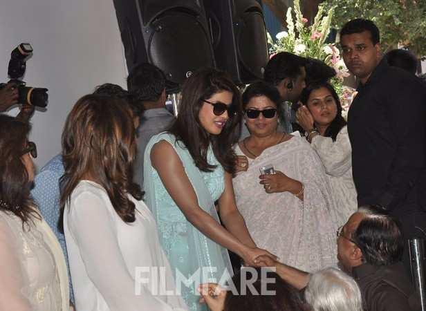 Parineeti, Priyanka and Madhu Chopra